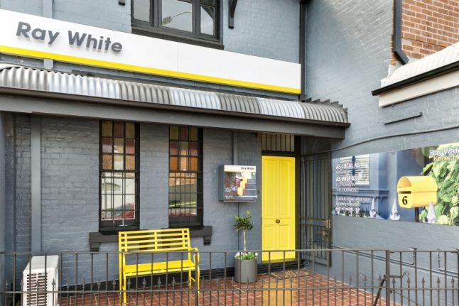 image of ray white kogarah office from front
