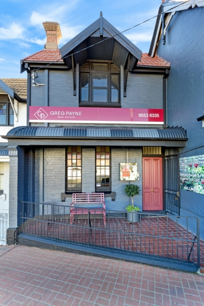 View from street of greg payne real estate building at 6 gray st kogarah